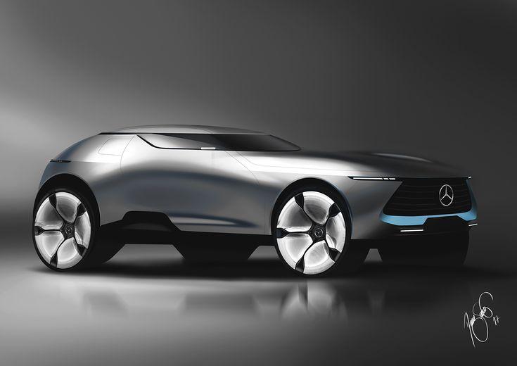 Mercedes-Benz SUV on Behance