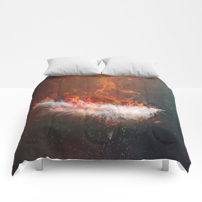 Icarus Comforters by HappyMelvin | Society6