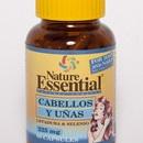 Para mantener sano el cabello y las uñas. ~$6.10  Nature Essential.   http://www.elpozodelasalud.es/compra/cabellos-y-unas-90-capsulas-de-225-mg-nature-essential-250226