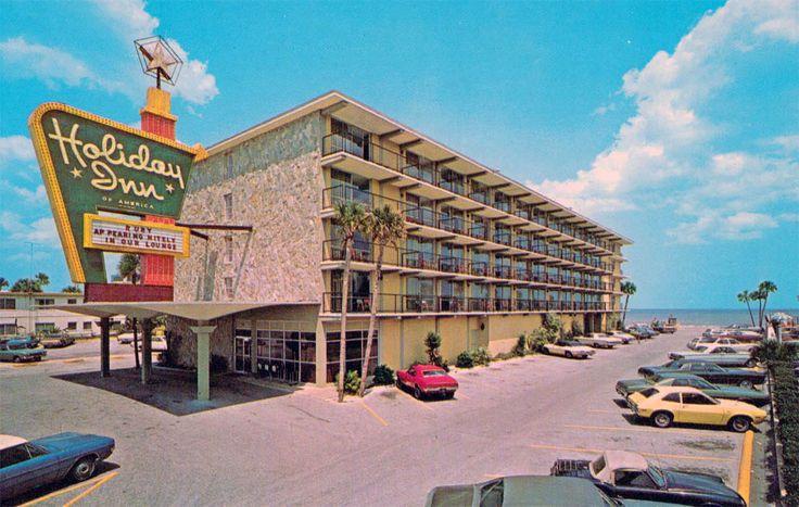 Holiday Inn - Daytona Beach, FL  LILEKS (James) :: Motel Postcards :: Florida