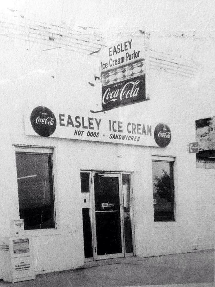 Old Easley Ice Cream Polor Pickens County Easley Old Photos