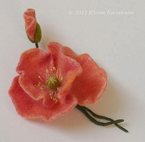 Gallery.ru / Фото #61 - FELT FLOWERS II - renew