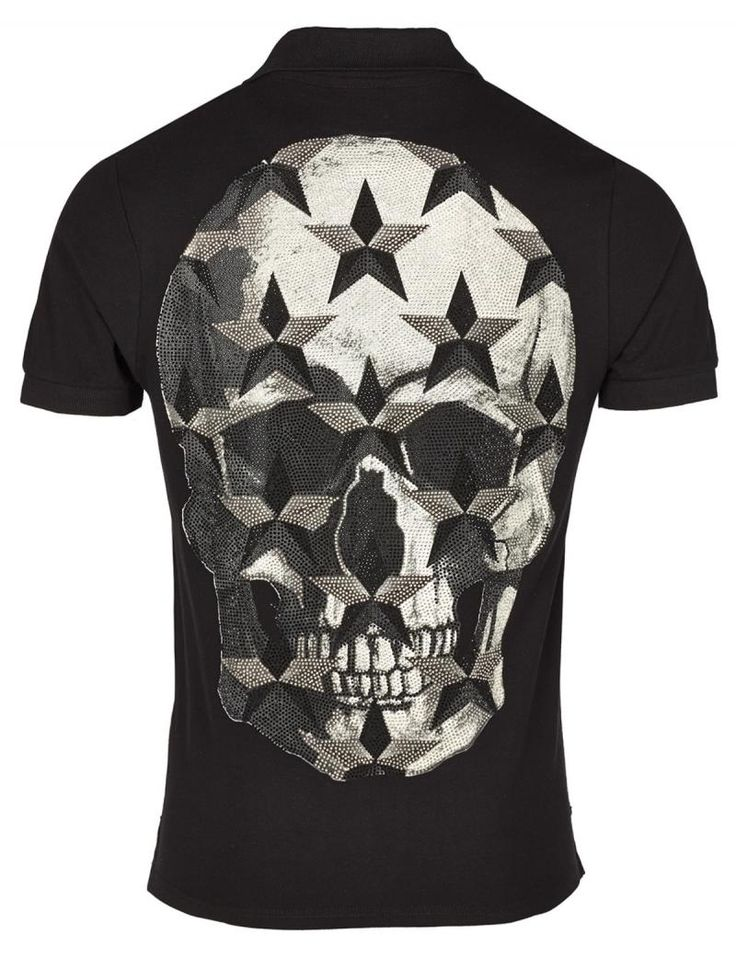 PHILIPP PLEIN T-SHIRT polo MR JONES