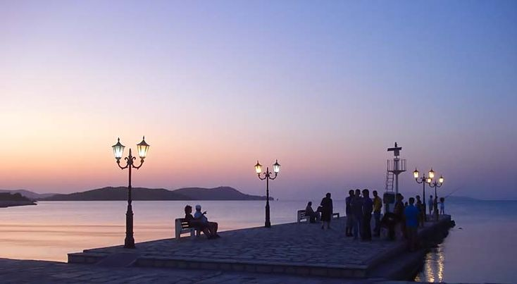 Vonitsa, Sunset Greece