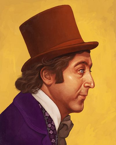 Invention, my dear friends, is 93% perspiration, 6% electricity, 4% evaporation, and 2% butterscotch ripple.    The Art Of Mike Mitchell 'Willy Wonka'