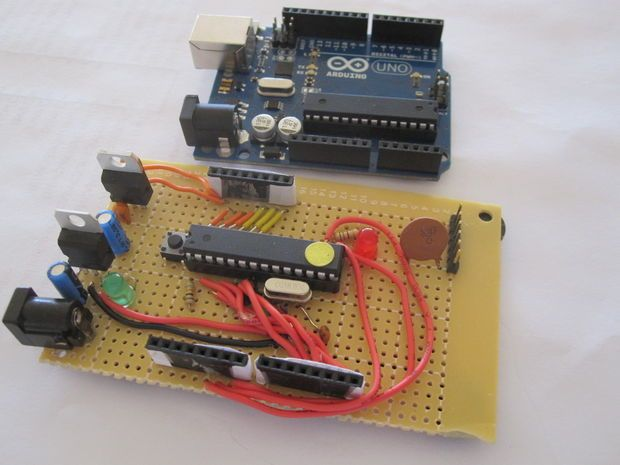 How to make your own Arduino board
