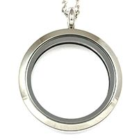 LARGE SILVER LOCKET 26.00