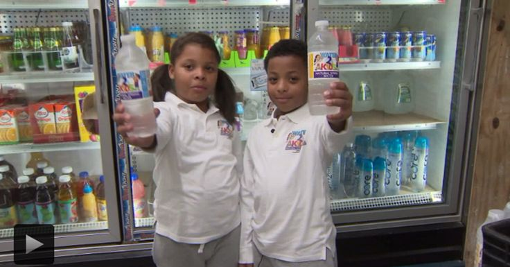 8-Year Old Bronx Twins Create Bottled Water Company to Provide Healthy Option for Kids #BlackHistory #BlackBusiness #Blackowned #BlackIsBeautiful #Empowerment #BlackArt #BlackQueens