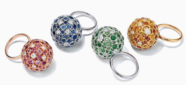 Tiffany Prism rings.Jewellery to wear on New Year's Eve. Read more on www.sophiworldblog.com