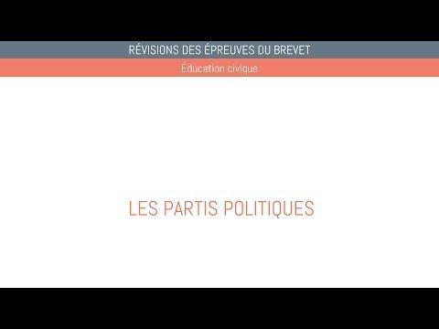 Tous les partis français y sont sauf communiste et NPA ( anarchiste)...EDUCATION CIVIQUE - BREVET - 06 Les partis politiques - YouTube