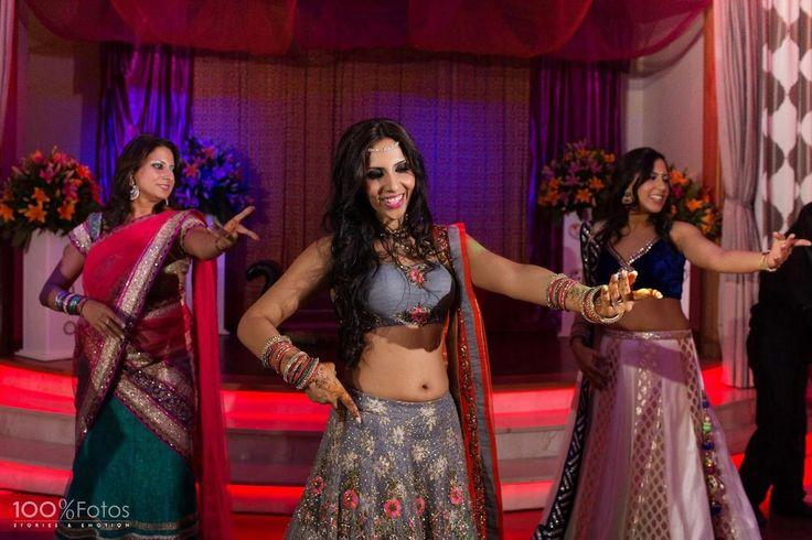 La boda de Mehndi y Sangeet: ¡Puro estilo Bollywood!