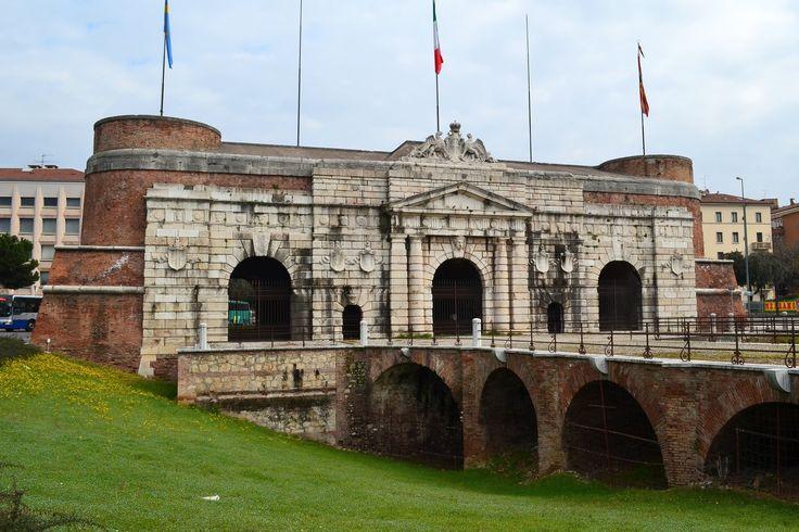 090 high renaissance architecture north italy the porta - Mezzi pubblici verona porta nuova ...