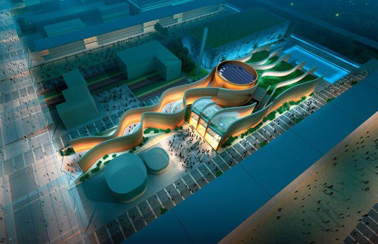 Le #pavillon des #EmiratsArabesUnis siégera magistralement au centre d' #Expo2015 à Milan. Venez le découvrir : http://www.novoceram.fr/blog/news/pavillon-emirats-expo-2015 #UAE #Emirats