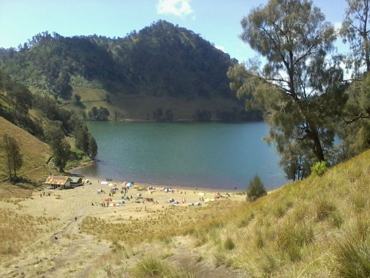 Ranu kumbolo, paradise for hiker, climber..
