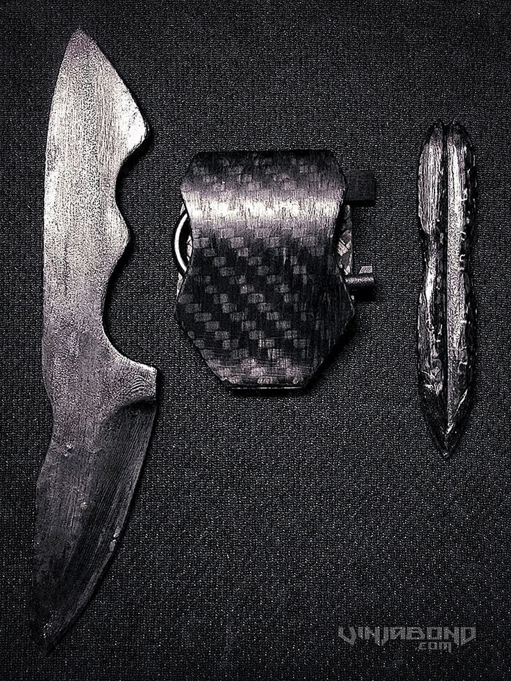 vinjabond - Google SearchGhost Operative Undetectable EDC Kit /// Carbon Fiber Knife w/ Ceramic Point, SERE IWB System, Carbon Impact Dagger w/ Shaped Charge Tip