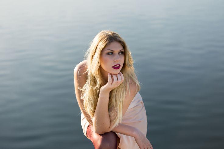 Blonde Beauty by the Lake - http://instagram.com/TiloHensel  Model:  Celina Kunhardt - http://Celina-Kunhardt.de  Location:  Langer See, Flugfeld, Böblingen-Sindelfingen
