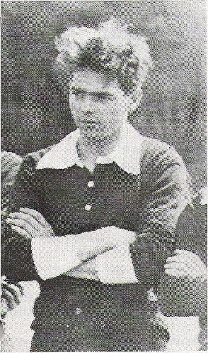 Jozef Rulof (here as a young footballplayer) (February 20, 1898 - November 3, 1952) Dutch painter, writer, trance medium and spirit medium.