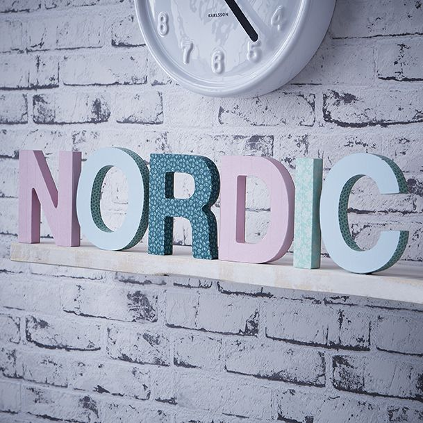 Mot cr atif nordic id es d co zodio diy d coration for Idee deco zodio