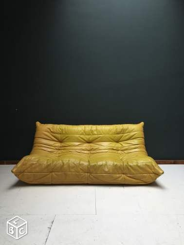 1000 ideas about canap cuir vintage on pinterest canap cuir 3 places ca - Canape ligne roset solde ...
