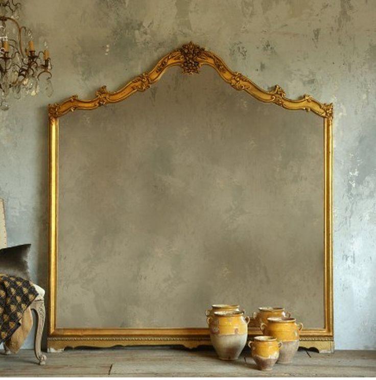 mediterranean floor mirror