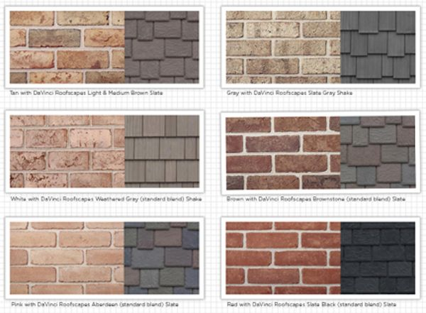 41 best brick shake color combinations images on Pinterest