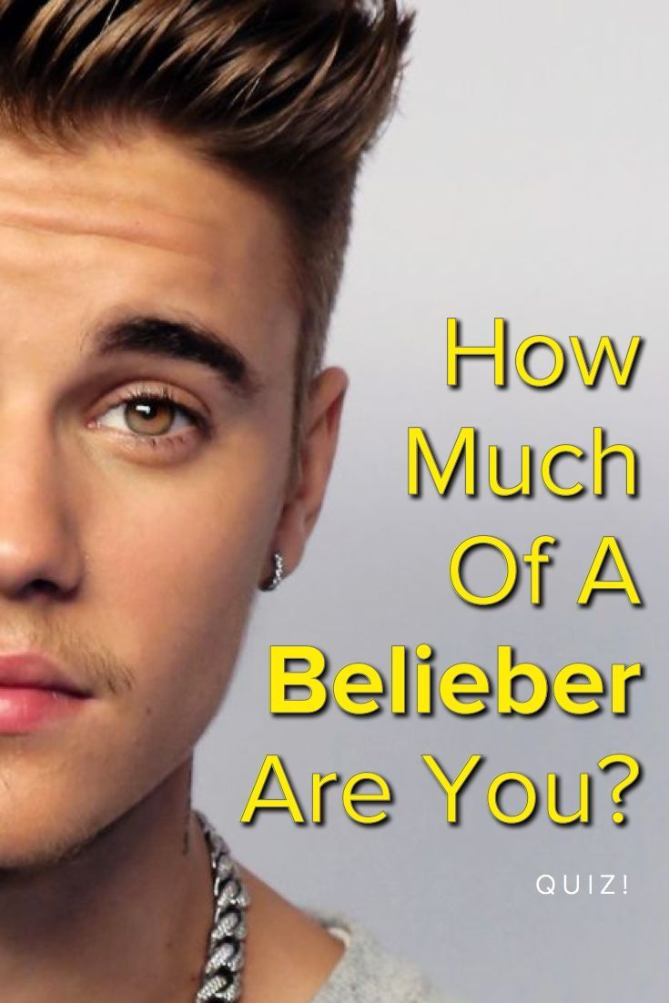How Much Of A Belieber (Justin Bieber Fan) Are You? Take this quiz and find out today!