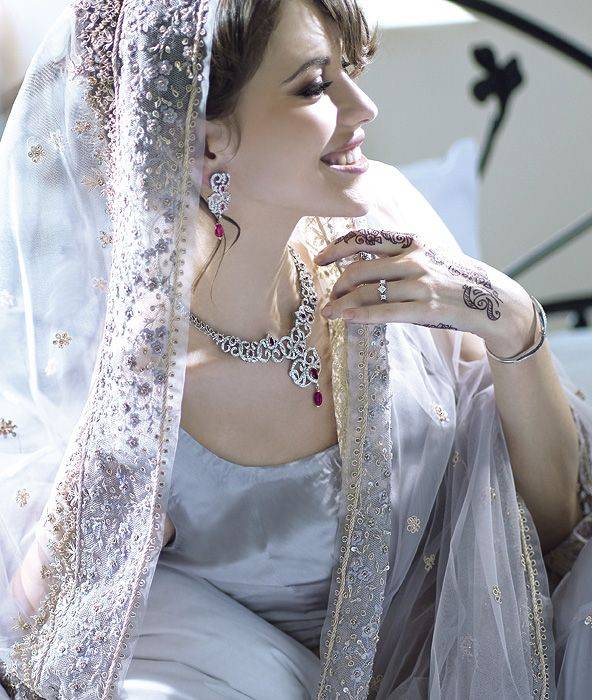 22 Beautiful Metro Bride Photographs from Tanishq Metro Bride Ad Gallery. Follow us www.pinterest.com/webneel