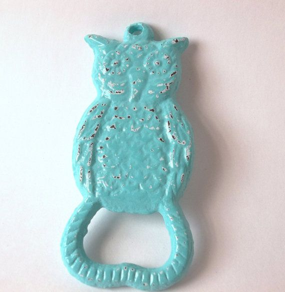 Owl Decor  Cast Iron  Metal Decor  Kitchen by Thepinkpicketfence #castiron #shabbychic