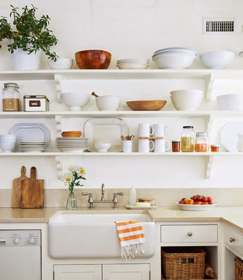Mejores 28 im genes de cocinas sin muebles altos en for Muebles altos de cocina