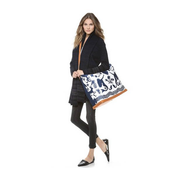 The weekender isn't just for impromptu trips to the Cape, this large bag doubles in a pinch as other bag types you need in your daily life. For example, the gym bag, the grocery bag, the diaper bag, and of course, the carry-on bag that takes the place of your purse and allows you to haul more stuff with you under your seat on the plane.Stela 9 Allende Weekender, $282 at Shopbop.