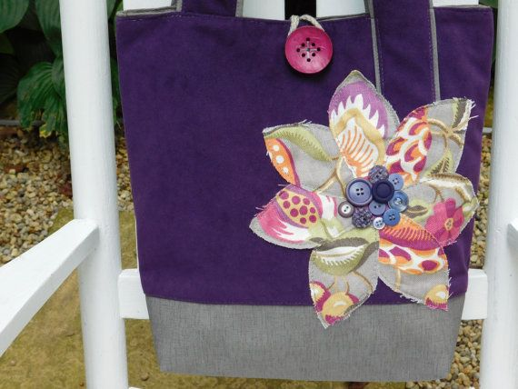 Hey, I found this really awesome Etsy listing at https://www.etsy.com/listing/246551571/purple-tote-bag-large-tote-bag-womens