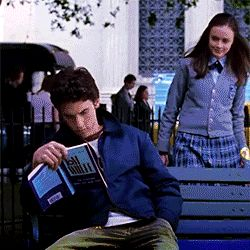 theyarereading: Jess Mariano ofThe Gilmore Girls readingThe Electric Kool Aid Acid Test by Tom Wolfe