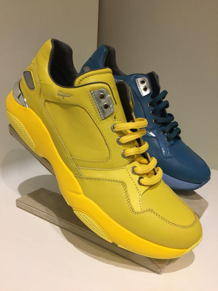 Spring 16' sneakers from Ferragamo