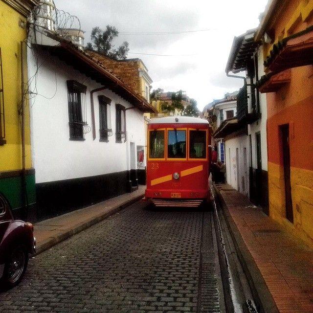 El tranvía turístico de Bogotá