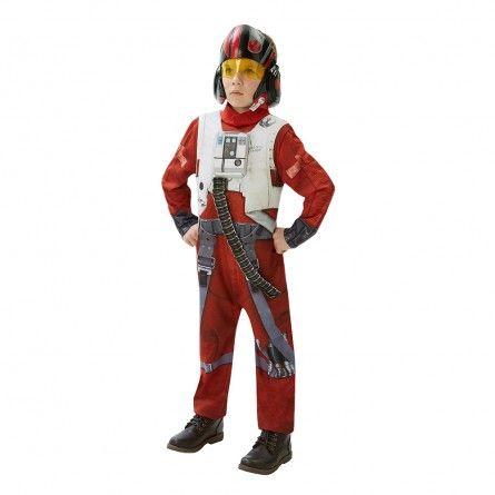 Boys POE X-Wing Fighter Pilot Costume