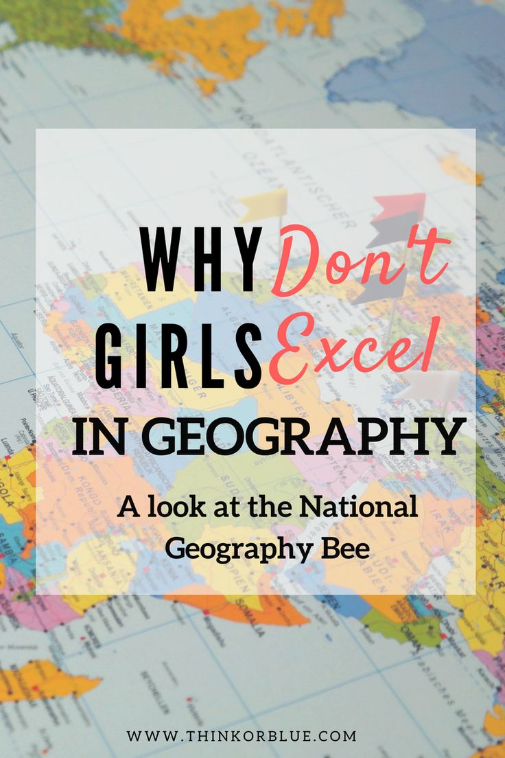 """Why do boys and Indian-American boys excel at geography, while girls are nowhere to be found? A closer look at girls and geography in the National Geographic """"Geography Bee"""" hosted by Mo Rocca."""