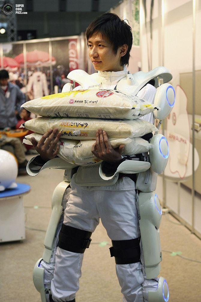Tengase Presente: Exoesqueleto japonés entra en el mercado mundial