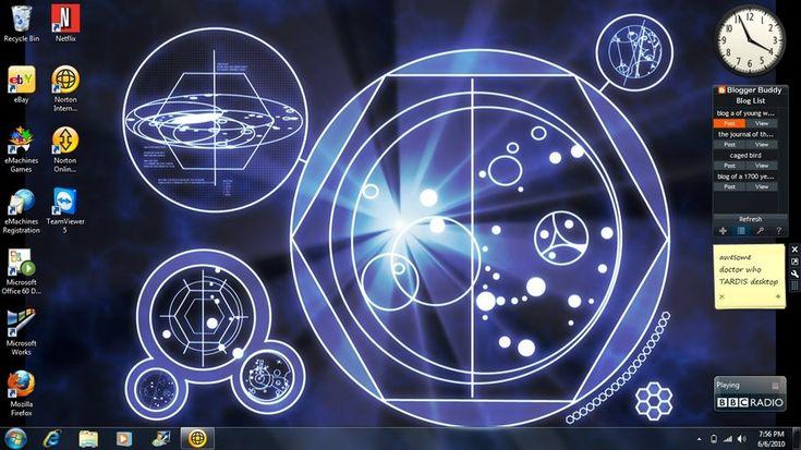 TARDIS screen desktop