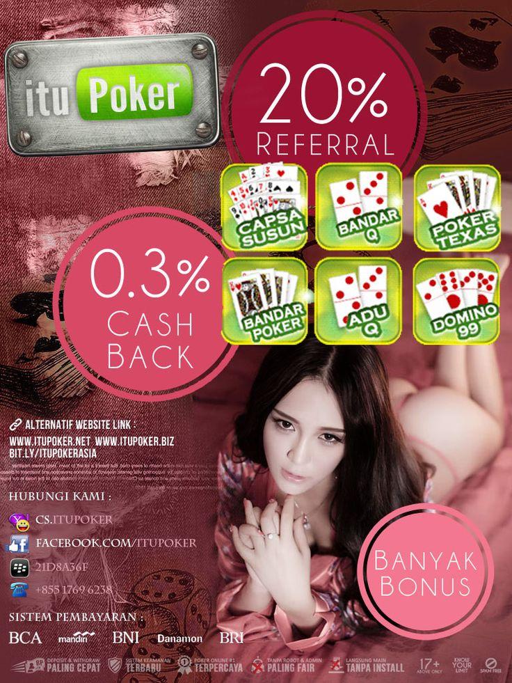 Judi BandarQ ===================== www.ituPoker.net Agen BandarQ Domino99 Judi Capsa Susun AduQ Main Jadi Bandar Poker