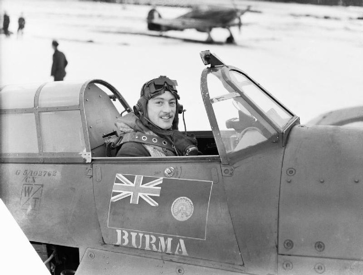ROYAL AIR FORCE FIGHTER COMMAND, 1939-1945. | Imperial War Museums Squadron Leader Robert Stanford-Tuck, CO of No. 257 Squadron, in the cockpit of his Hawker Hurricane Mk I at Coltishall, January 1941.