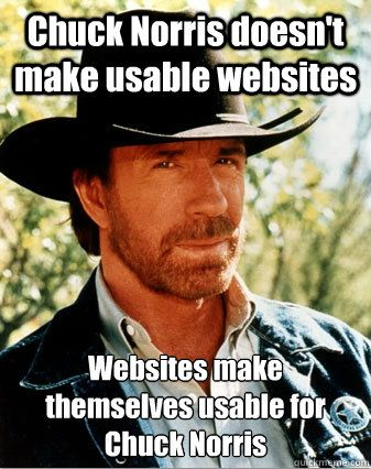 cd0de092fe52f6c33452e872f7233c4c chuck norris memes stupid funny 50 best ux & design memes images on pinterest funny stuff, funny,How To Make A Meme Website