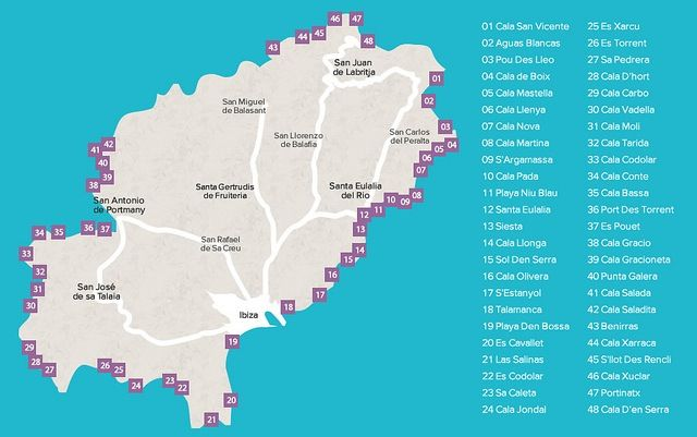 The best Ibiza beaches