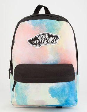 7b8db90043cd VANS Realm Tie Dye Backpack