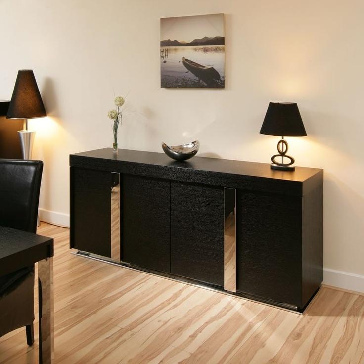 Oak Sideboard/Cabinet/Buffet in Black Oak 2.0mtr