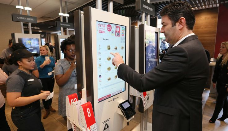 Table service and self-order kiosks are the latest major shift being undertaken by CEO Steve Easterbrook.