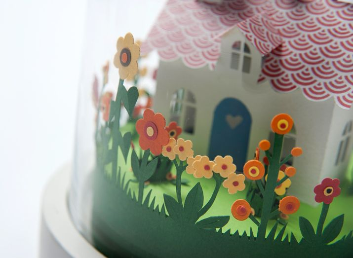 Happy House detail by Helen Musselwhite