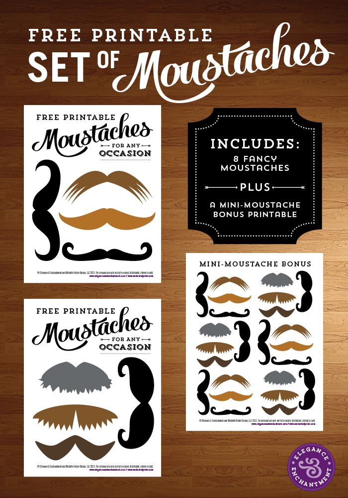 For everyone who wants to celebrate Movember without actually growing a moustache.