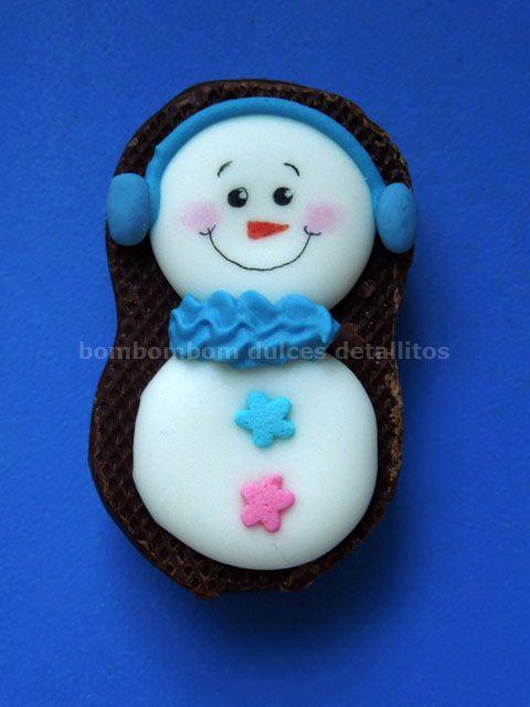 Minibubulubu decorado snowman