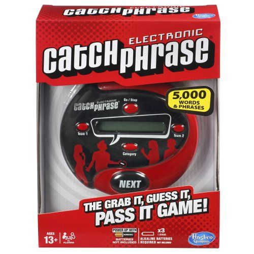Electronic Catchphrase Game - http://www.kidsdimension.com/electronic-catchphrase-game/