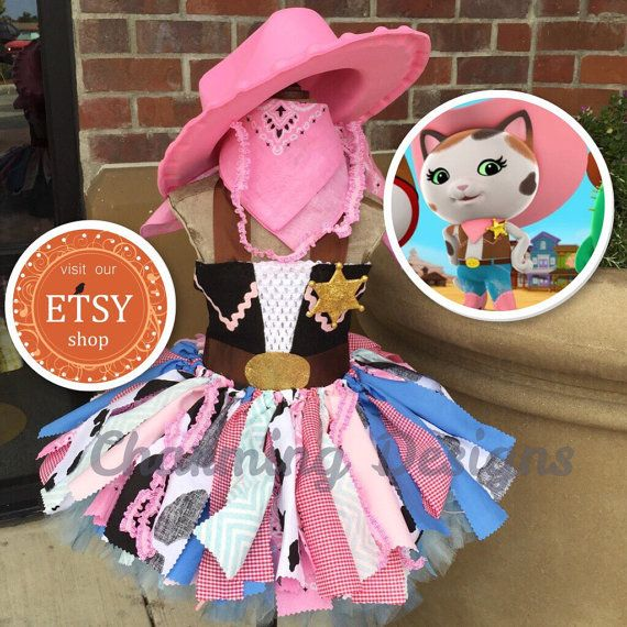 5 piece set-Sheriff Callie TuTu Dress  COMPLETE by CharmCreated